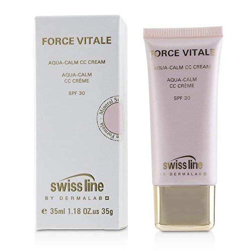 憤る好奇心盛傷つけるスイスライン Force Vitale Aqua-Calm CC Cream SPF30 - Beige 10 35ml並行輸入品