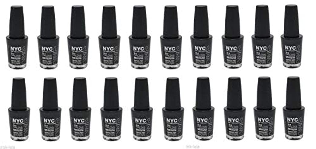 N.Y.C. IN A MINUTE QUICK DRY NAIL POLISH #272 BOWERY BLACK