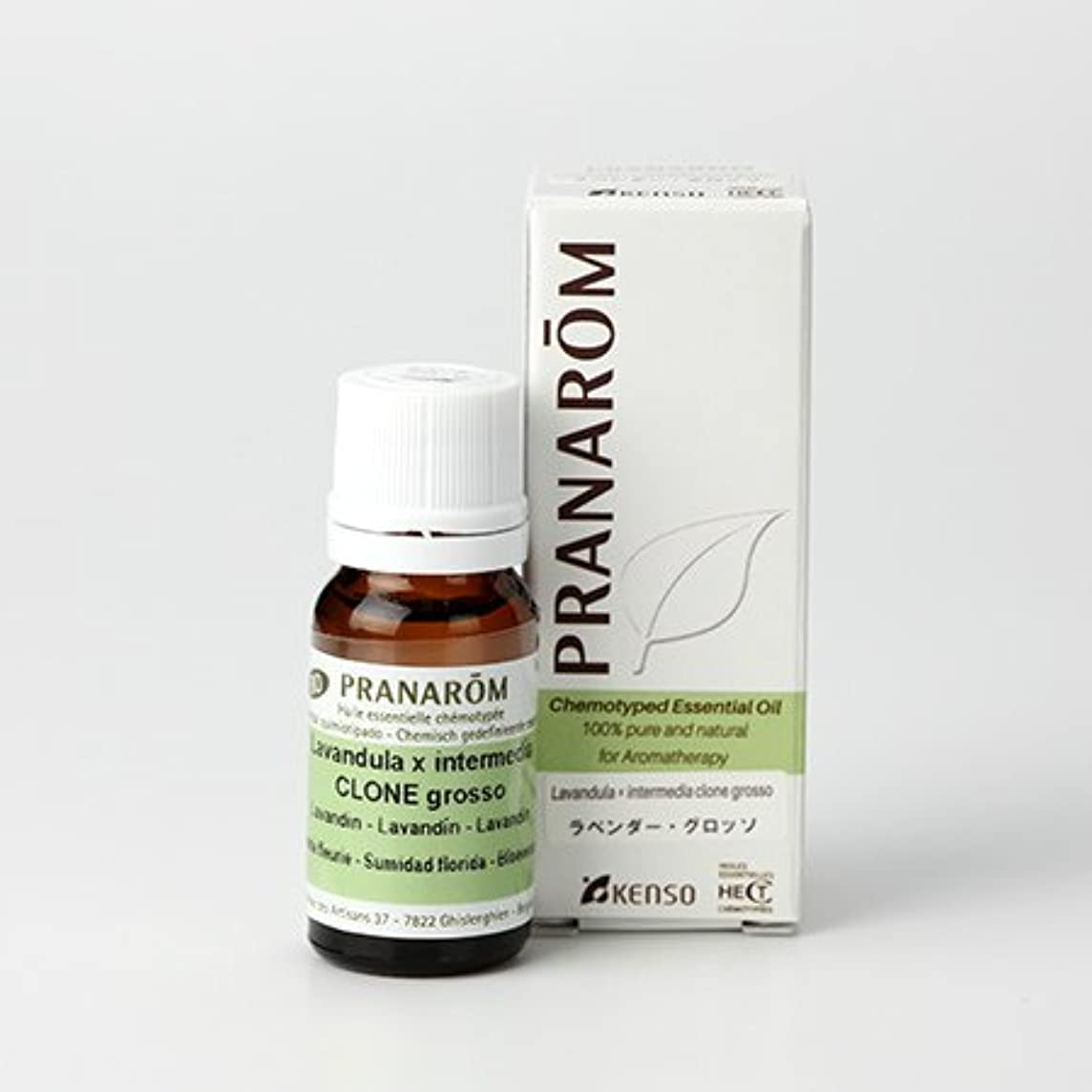 収穫スリラー後世プラナロム ラベンダー グロッソ 10ml (PRANAROM ケモタイプ精油)