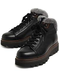 ALBERTO GUARDIANI アルベルトガルディアーニ モンキー ブーツ 靴 ファー付 77083C ブラック