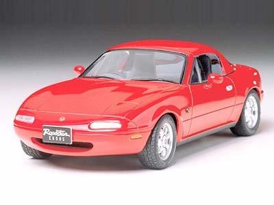 1/24 スポーツカー No.85 1/24 ユーノス ロードスター 24085