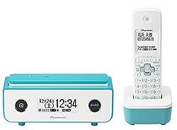 パイオニア Pioneer TF-FD35W デジタルコードレス電話機 子機1台付き 迷惑電話防止 ターコイズブルー TF-FD35W(L)  【国内正規品】