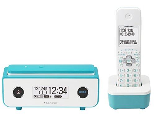 Pioneer デジタルコードレス電話機 子機1台付き ターコイズブルー TF-FD35W(L) TF-FD35W(L)