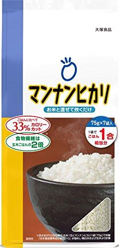 大塚食品 マンナンヒカリ スティックタイプ 75g×7袋入 ...
