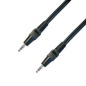 [F-FACTORY] オーディオケーブル 3.5mm ステレオミニプラグと3.5mm ステレオミニプラグケーブル 1.0m /B-1