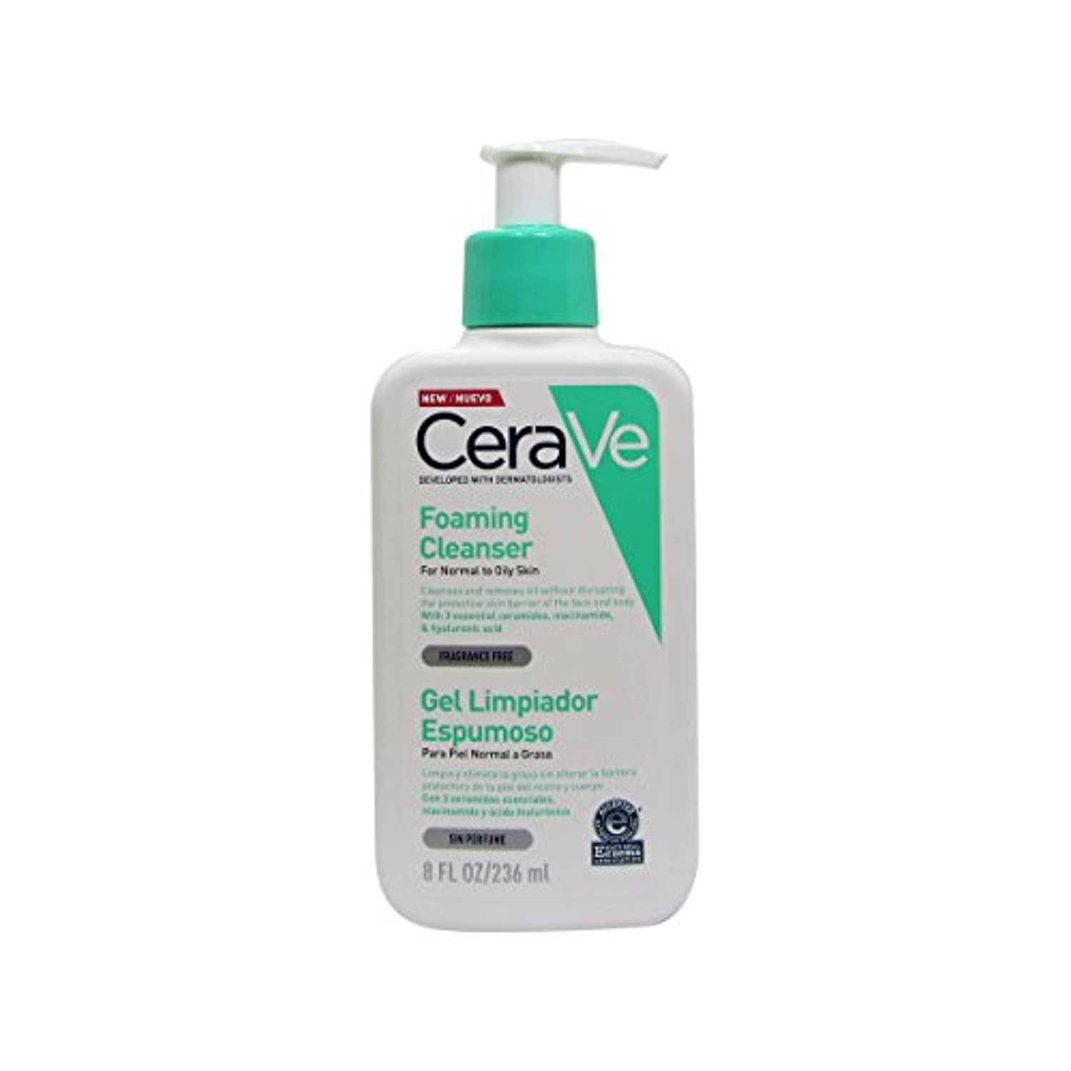 Cerave Moisturizing Cleansing Foam 236ml [並行輸入品]