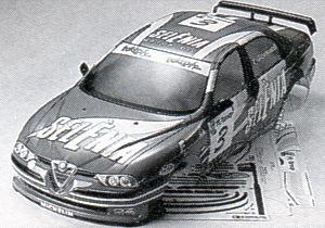 R/C SPARE PARTS SP-853 アルファロメオ156 レーシング スペアボディ