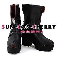 【サイズ選択可】コスプレ靴 ブーツ K-2670 東方Project Scarlet Devil Mansion 二設 フランドール・スカーレット 男性25CM