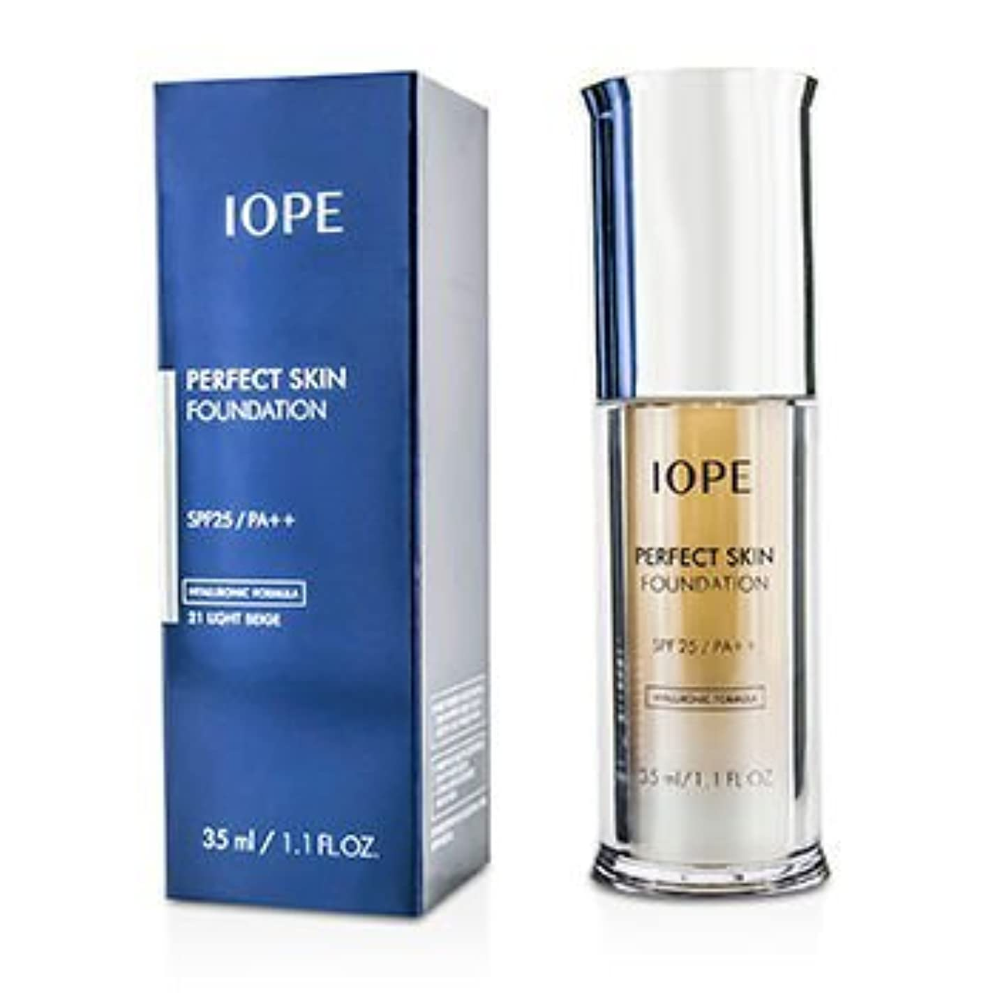 販売計画包帯有効[IOPE] Perfect Skin Foundation SPF25 - # 21 Light Beige 35ml/1.1oz