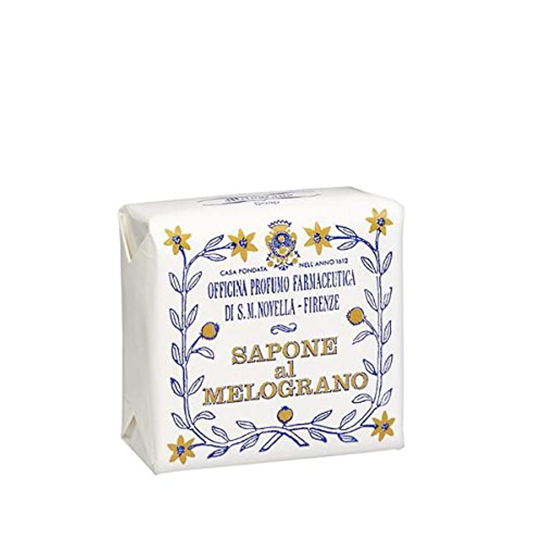 サンタ?マリア?ノヴェッラ ザクロソープ 100g Santa Maria Novella Melograno Soap [並行輸入品]