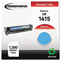 E321A Compatible, Remanufactured, CE321A (128A) Laser Toner, 1300 Yield, Cyan (並行輸入品)