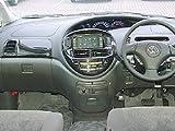 エスティマ30系 インテリアパネル Aセット(標準車向け) [カラーバリエーション]黒木目es0045
