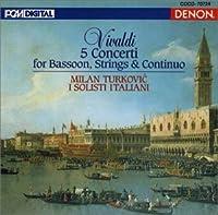 Vivaldi:Bassoon Concertos by TURKOVIC & I SOLISTI ITALIANI (2004-12-22)