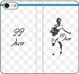 iPhone/Xperia/Galaxy/他機種選択可:サッカー/グラフィティ手帳ケース(デザイン:マドリッド/22番_01) 03 iPhone6/6s