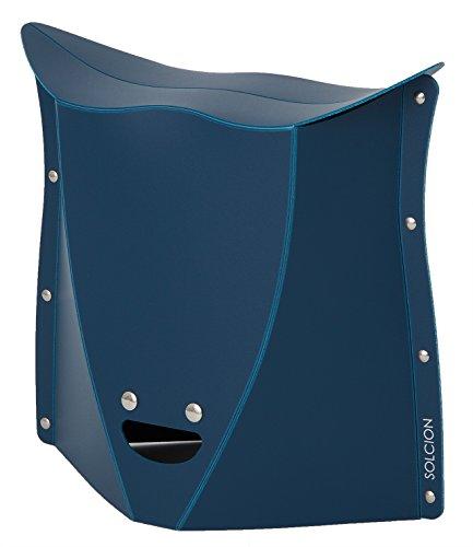 SOLCION 折りたたみ椅子 Patatto 320 (パタット 320) ネイビー 高さ32cm PT3203