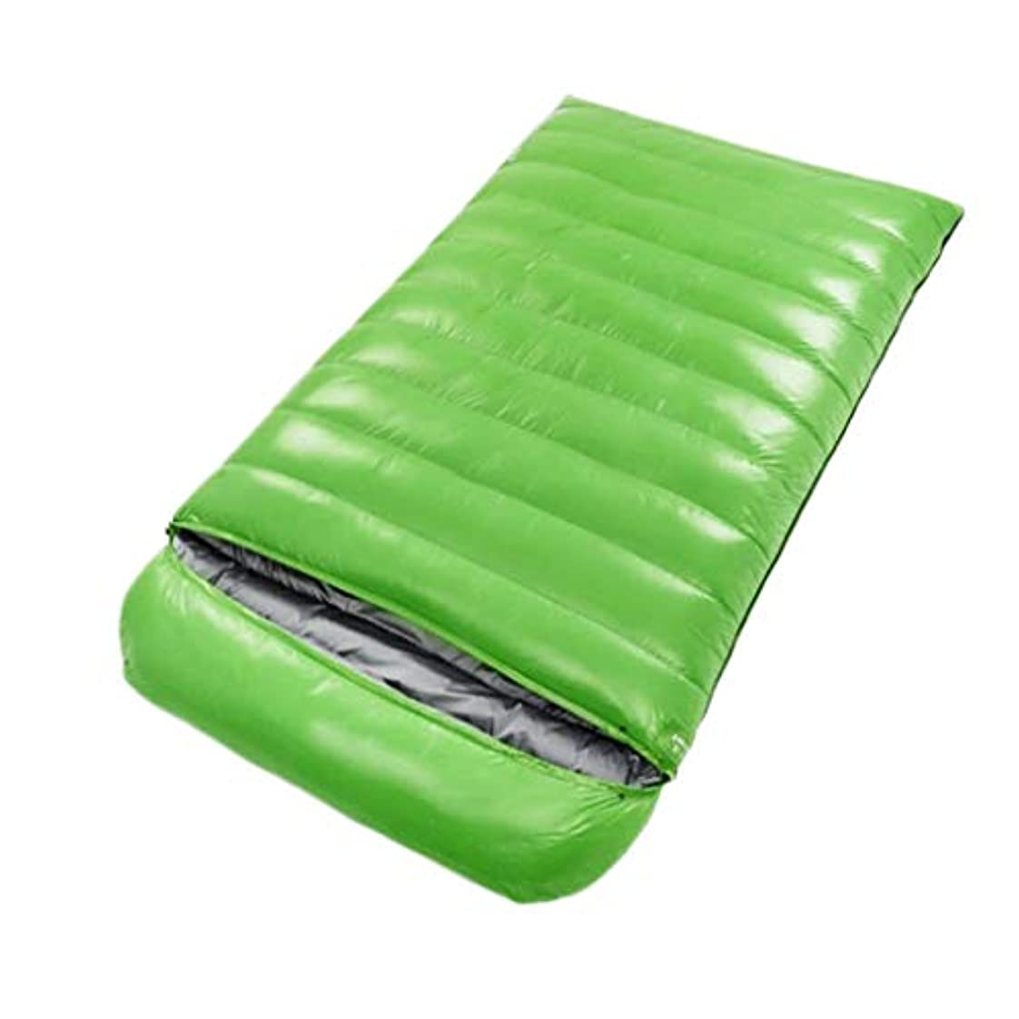 グループサラダ愛撫冬の寝袋屋外キャンプハイキングに適したポータブル寝袋 (Capacity : 4.5kg, Color : Green)