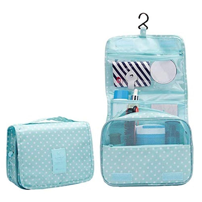 ホステス格差くるくるWadachikis 例外的な女性ジッパーハンギング防水旅行トイレタリーの洗浄化粧品オーガナイザーバッグバッグ(None Picture Color)