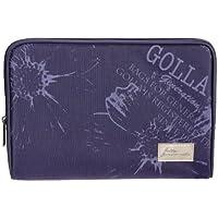 golla ゴラ iPad用 簡易スタンド バッグ CHRINA パープル G1462
