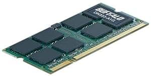 BUFFALO ノートPC用増設メモリ PC2700(DDR333) 1GB MV-DN333-A1G