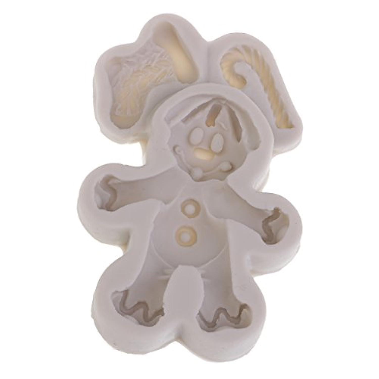 Prettyia デコレーション シリコーン金型 モールド エルクの形 石鹸作り