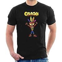 Crash Bandicoot and Aku Aku Men's T-Shirt