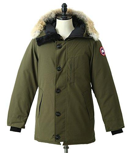 CANADA GOOSE (カナダグース) / JASPER PARKA (ジャスパー ダウンジャケット) XL ミリタリーグリーン