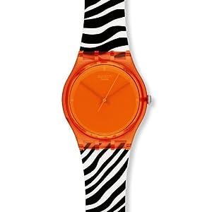 スウォッチ SWATCH 腕時計 GENT(ジェント) ORANGE ZEB GO107 ユニセックス