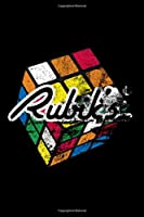 Rubiks Distressed: Blank Lined Notebook Journal for Work, School, Office | 6x9 110 page