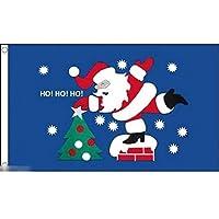 国旗 メリークリスマス サンタクロース 特大フラッグ【ノーブランド品】