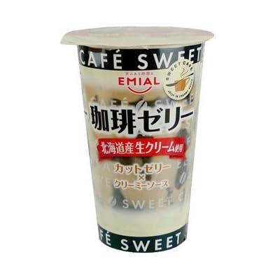 エミアル SWEET CAFE 珈琲ゼリー 〜北海道産生クリーム使用〜 230gX12