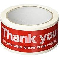 ヘッズ 梱包テープ ご注文ありがとう 幅 50mm × 50m 巻 1巻 HEADS CHU-PL1