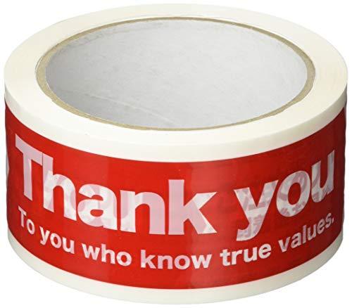 ヘッズ ご注文ありがとうパッキングテープ-1 CHU-PL1 1セット 21巻:1巻×21パック