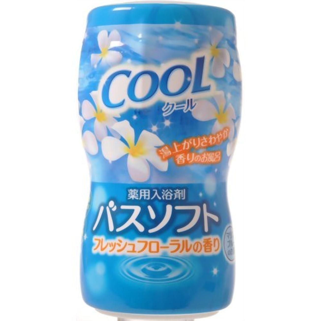 比類なき特派員避難【オカモト】薬用入浴剤バスソフト クール 700g