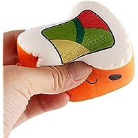 ノベルティ応力Relieverおもちゃ、寿司香りつきSqueeze Slow Rising FunおもちゃRelieve Stress Cureギフト