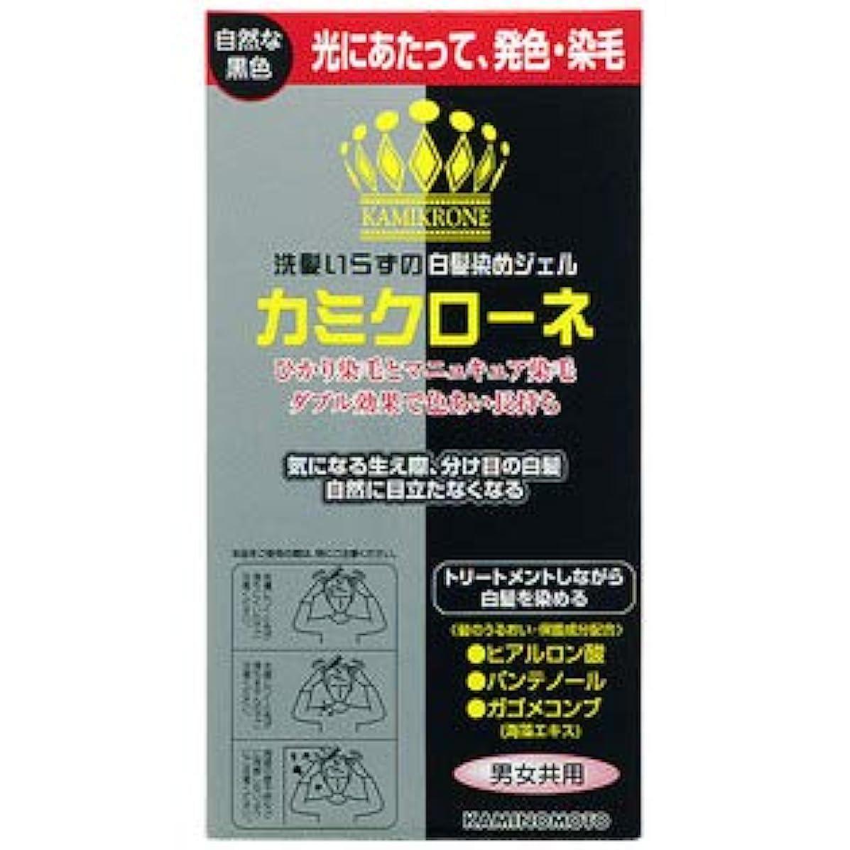 勢いトースト矩形【3個】 加美乃素 カミクローネ 自然な黒色 80mlx3個 (4987046820013)