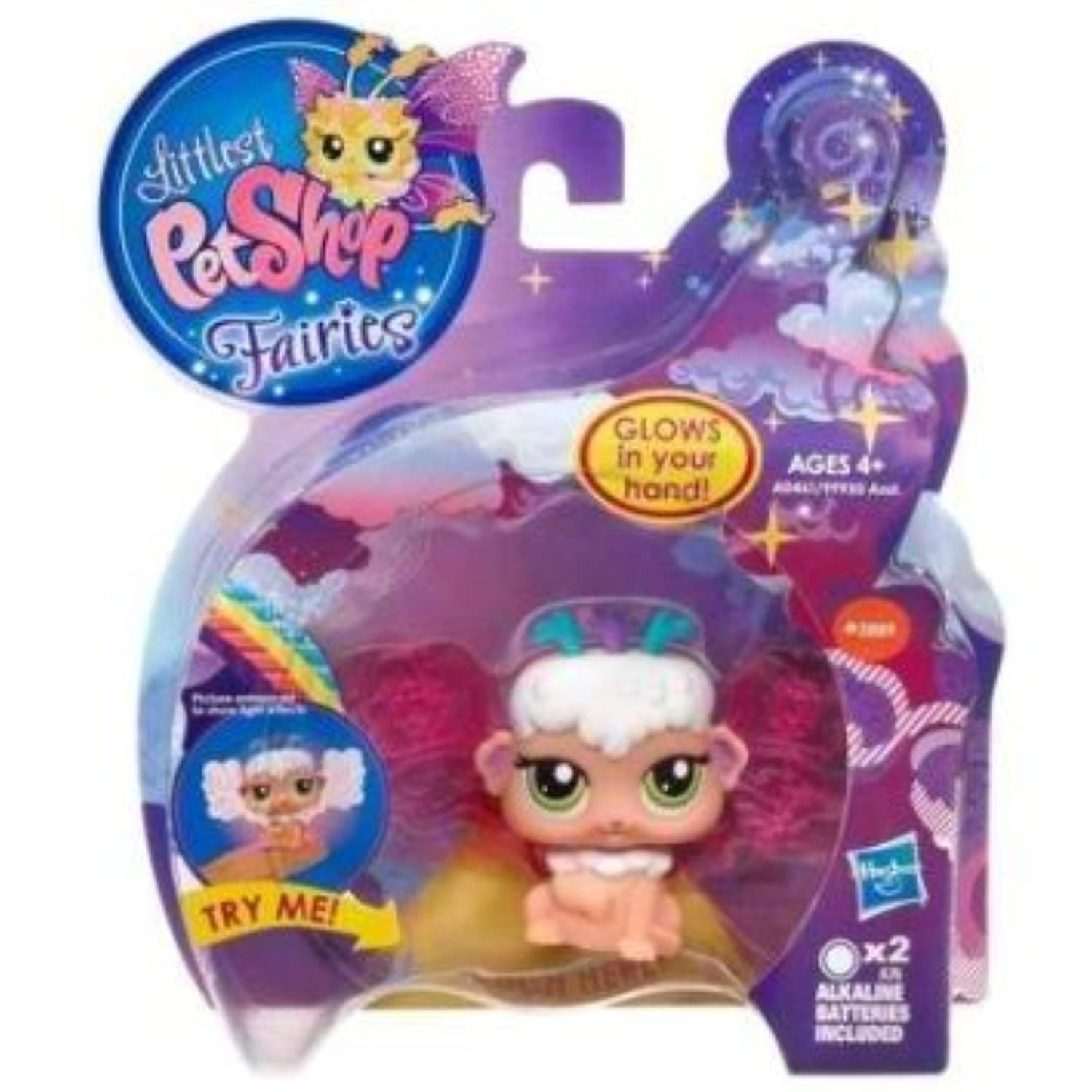 Littlest Pet Shop (リトルペットショップ) - Sky Fairies - #2889 SHIMMER SKY DAYBREAK FAIRY - Glow in Your Hand - A0461 - Hasbro(並行輸入)
