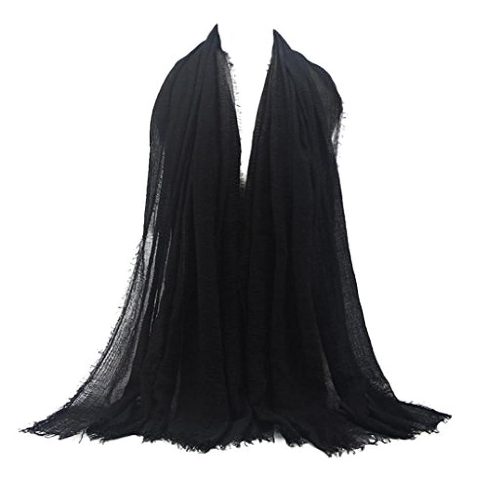 結婚したナラーバー感心するDourabbi プレミアム Viscose Maxi Crinkle Cloud Hijab スカーフショール ソフト イスラム教徒
