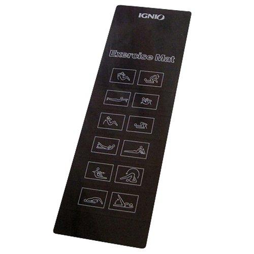 [해외]이구니오 (IGNIO) 체력 용 매트 (EXERCISE MAT) 블랙/Ignio (IGNIO) Fitness mat (EXERCISE MAT) Black