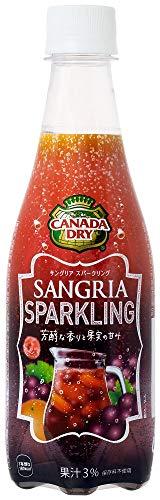 コカ・コーラ カナダドライ サングリア スパークリング 410mlPET×24本