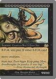 英語版 アングルード Unglued UGL B.F.M. (Big Furry Monster) - Right マジック・ザ・ギャザリング mtg