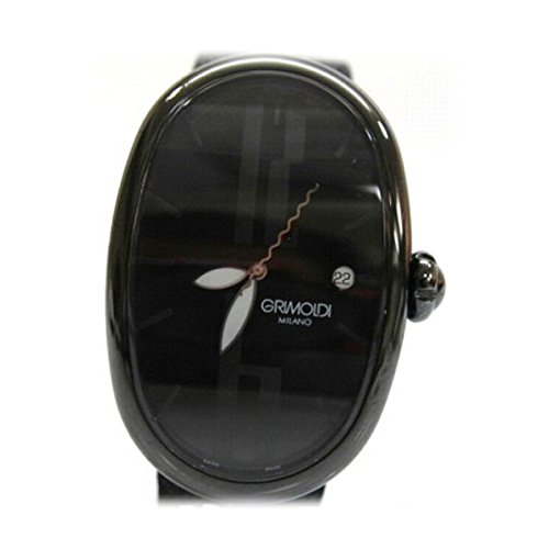 GRIMOLDI(グリモルディ) ボルゴノーヴォ ブラックジャック 世界限定500個 メンズ腕時計 PVDブラック 自動巻き [中古]