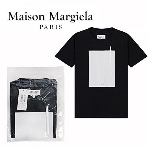 MAISON MARGIELA メゾンマルジェラ Tシャツ 半袖 パックT メンズ <br> (900 BLACK)【S50GC0525-S23182】