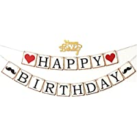 誕生日 パーティー 飾り ハッピー バースデー happy birthday 文字 ガーランド デコレーション