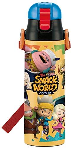 スケーター 子供用 直飲み ステンレス水筒 580ml スナックワールド SDC6N