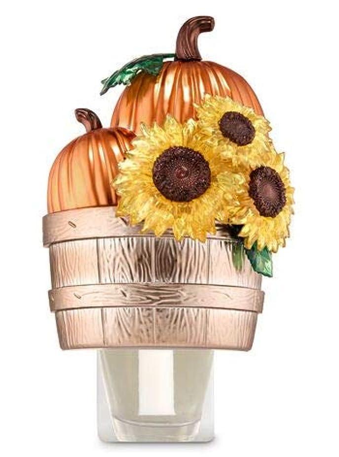 オートメーション敬な特権的【Bath&Body Works/バス&ボディワークス】 ルームフレグランス プラグインスターター (本体のみ) パンプキン&サンフラワーバスケット Wallflowers Fragrance Plug Pumpkins...