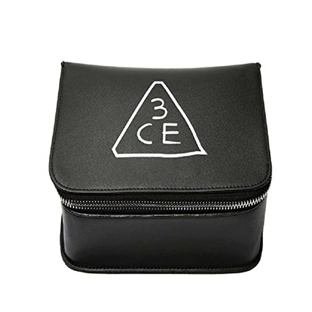 縫うポーンリフト3CE(3 CONCEPT EYES) COSMETIC BOX POUCH 化粧品 BOXポーチ stylenanda 婦人向け 旅行 ビッグサイズ[韓国並行輸入品]
