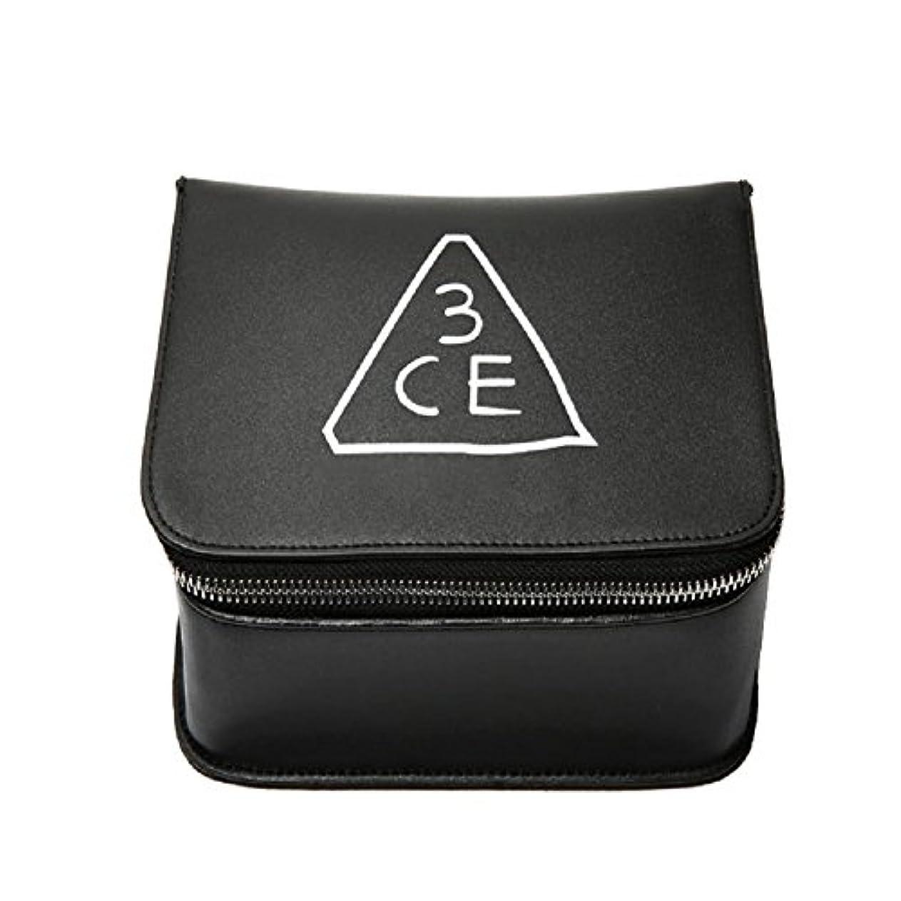 警報階段ライラック3CE(3 CONCEPT EYES) COSMETIC BOX POUCH 化粧品 BOXポーチ stylenanda 婦人向け 旅行 ビッグサイズ[韓国並行輸入品]