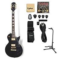 Epiphone Les Paul Custom Pro Lite/Ebony スタンダードセット エレキギター レスポールカスタム エピフォン
