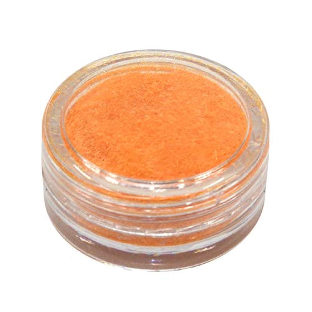 プール好戦的な外側ネルパラ ベルベットパウダー #30 オレンジ