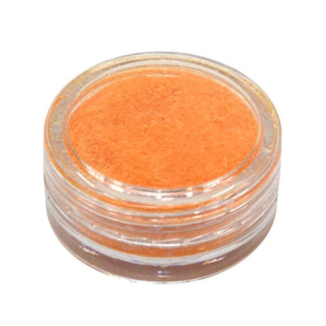 骨予備毛布ネルパラ ベルベットパウダー #30 オレンジ